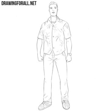 How to Draw Tommy Vercetti