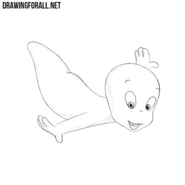 How to Draw Casper Easy