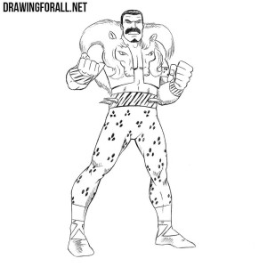 How to draw Kraven the Hunter