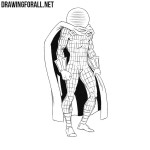 How to Draw Mysterio