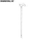How to Draw a Cane