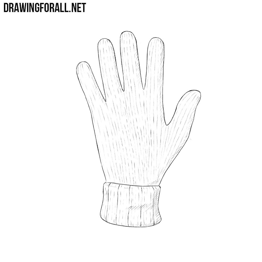How to Draw a Glove