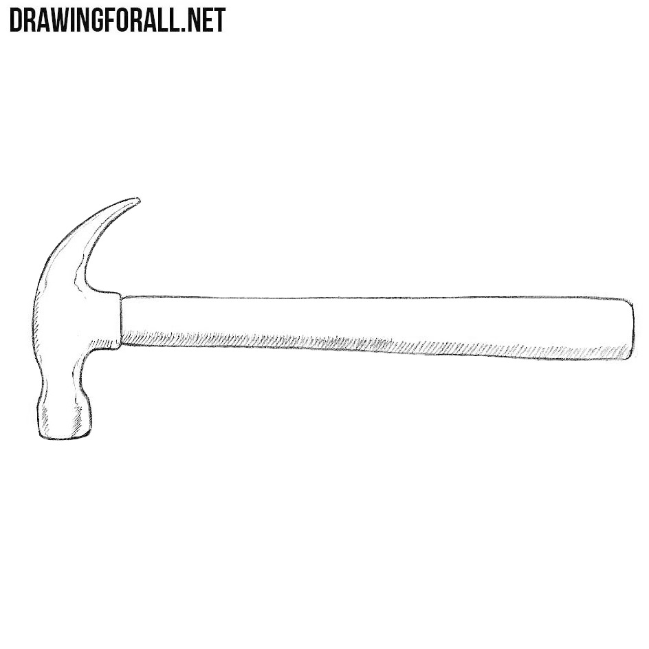 How to Draw a Hammer