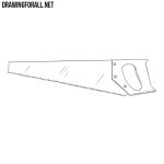 How to Draw a Hand Saw