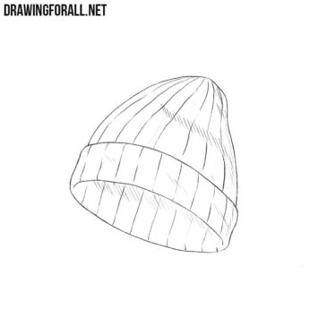 How to Draw a Knit Hat