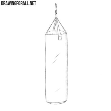How to Draw a Punching Bag