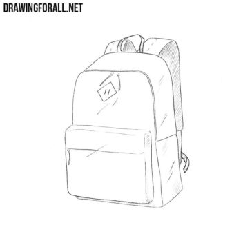 How to Draw a Schoolbag