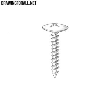 How to Draw a Screw