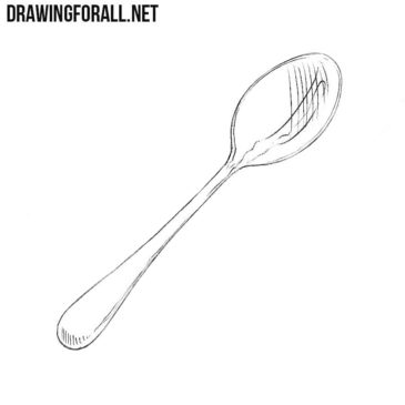 How to Draw a Spoon