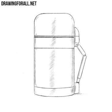 How to Draw a Thermos