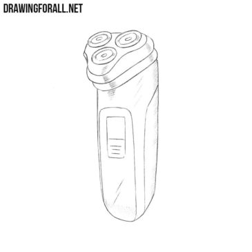 How to Draw an Electric Razor