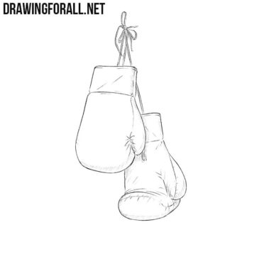 How to Draw Boxing Gloves