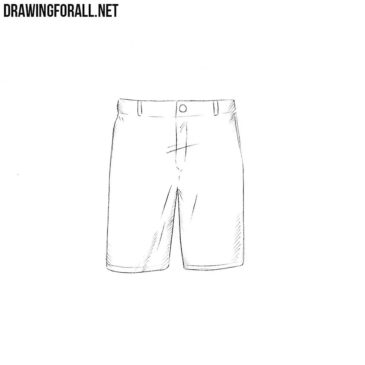How to Draw Shorts