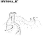 How to Draw the Great Wall of China