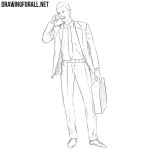 How to Draw a Businessman