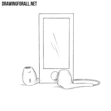 How to Draw an MP3 player