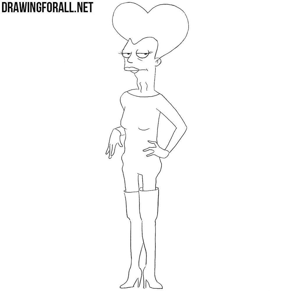 How to Draw Carol Miller from Futurama