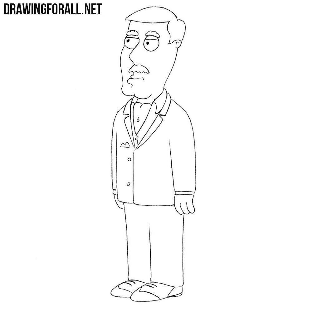 How to Draw Carter Pewterschmidt