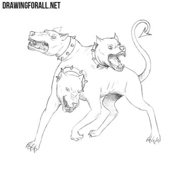 How to Draw Cerberus