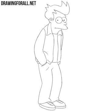 How to Draw Fry from Futurama