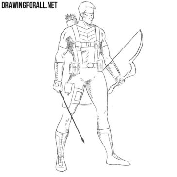 How to Draw Hawkeye