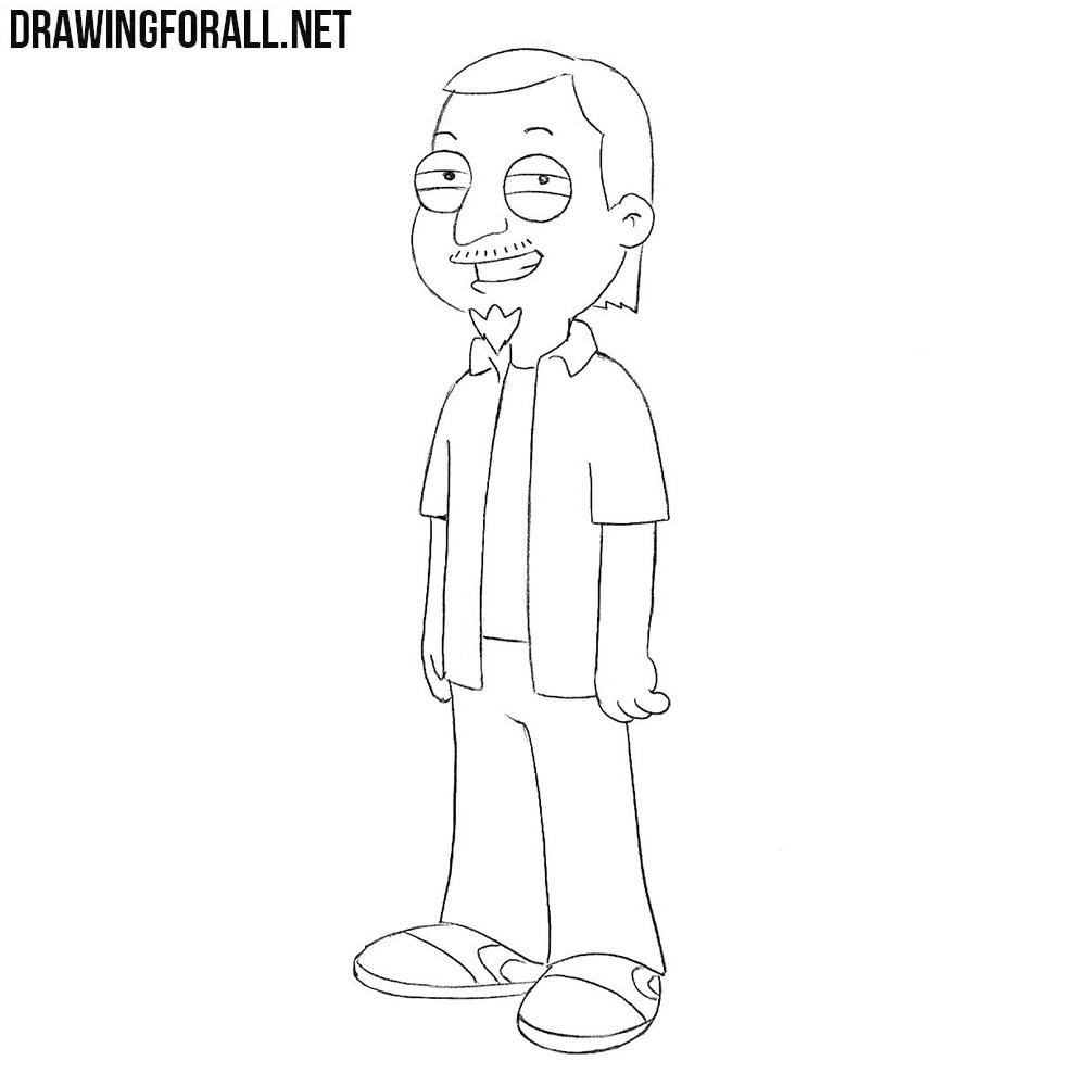 How to Draw Jeff Fischer
