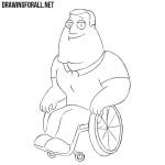 How to Draw Joe Swanson