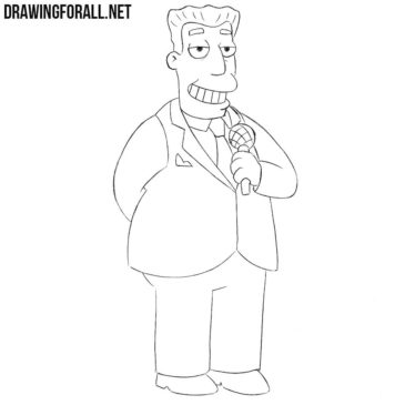How to Draw Kent Brockman