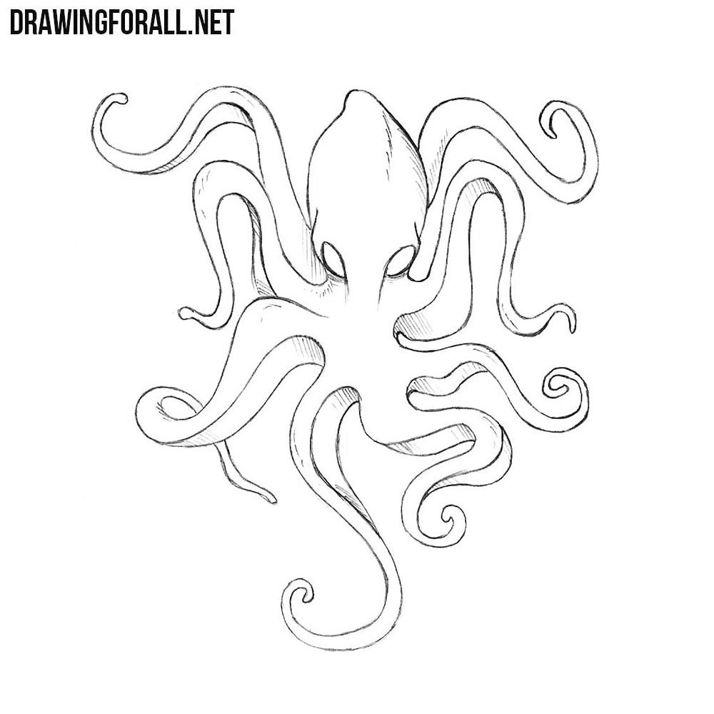 How to Draw Kraken Easy
