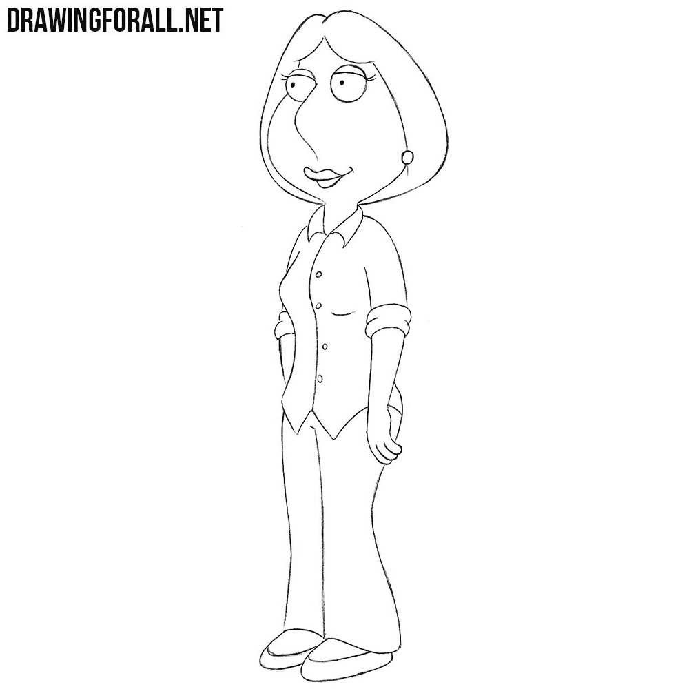 How To Draw Lois Griffin Drawingforall Net
