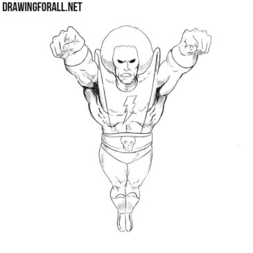 How to Draw Magus from Marvel