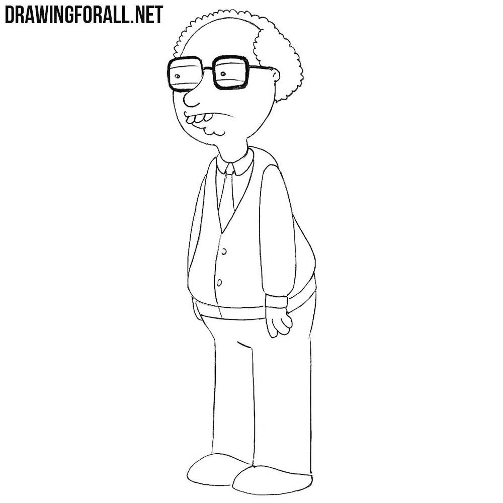 How to Draw Neil Goldman