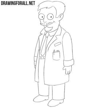 How to Draw Nick Riviera