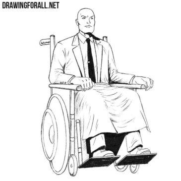 How to Draw Professor X