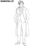 How to Draw Sherlock Holmes