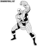 How to Draw Shocker from Marvel