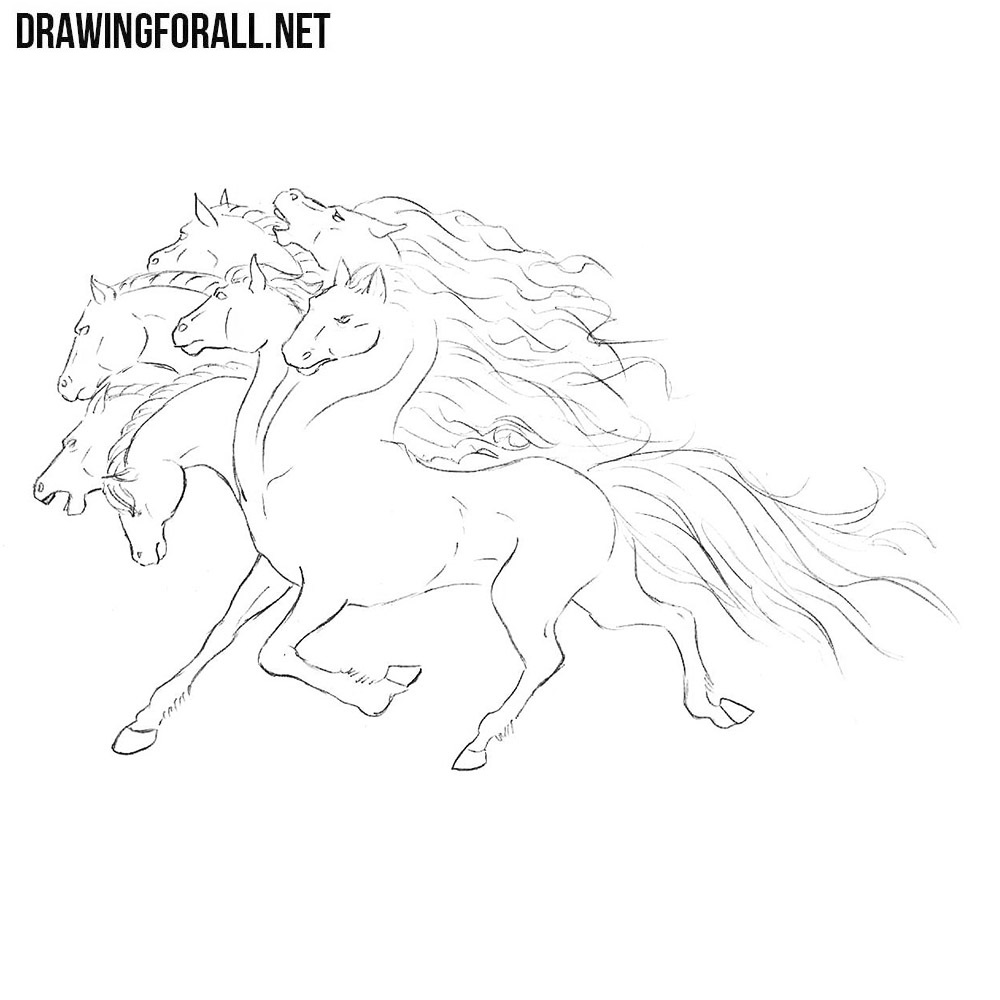 How to Draw Uchchaihshravas