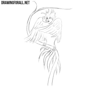 How to draw a Gamayun