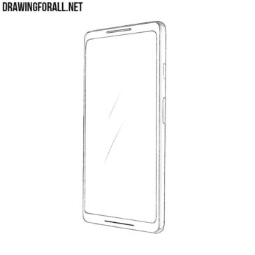 How to Draw a Google Pixel 2 XL