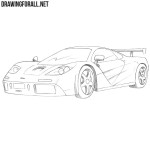How to Draw a McLaren F1