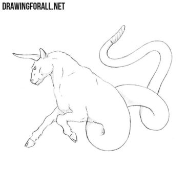 How to Draw an Ophiotaurus