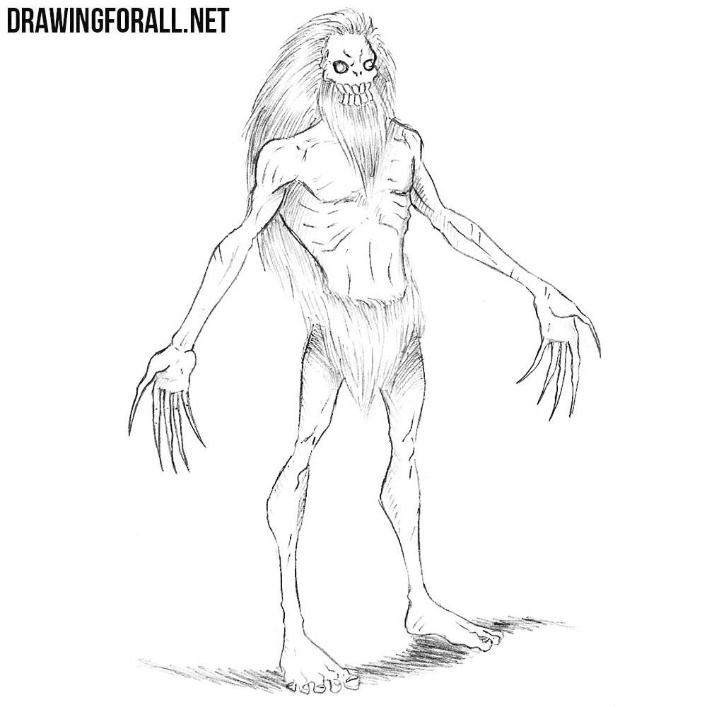 How to Draw a Wendigo