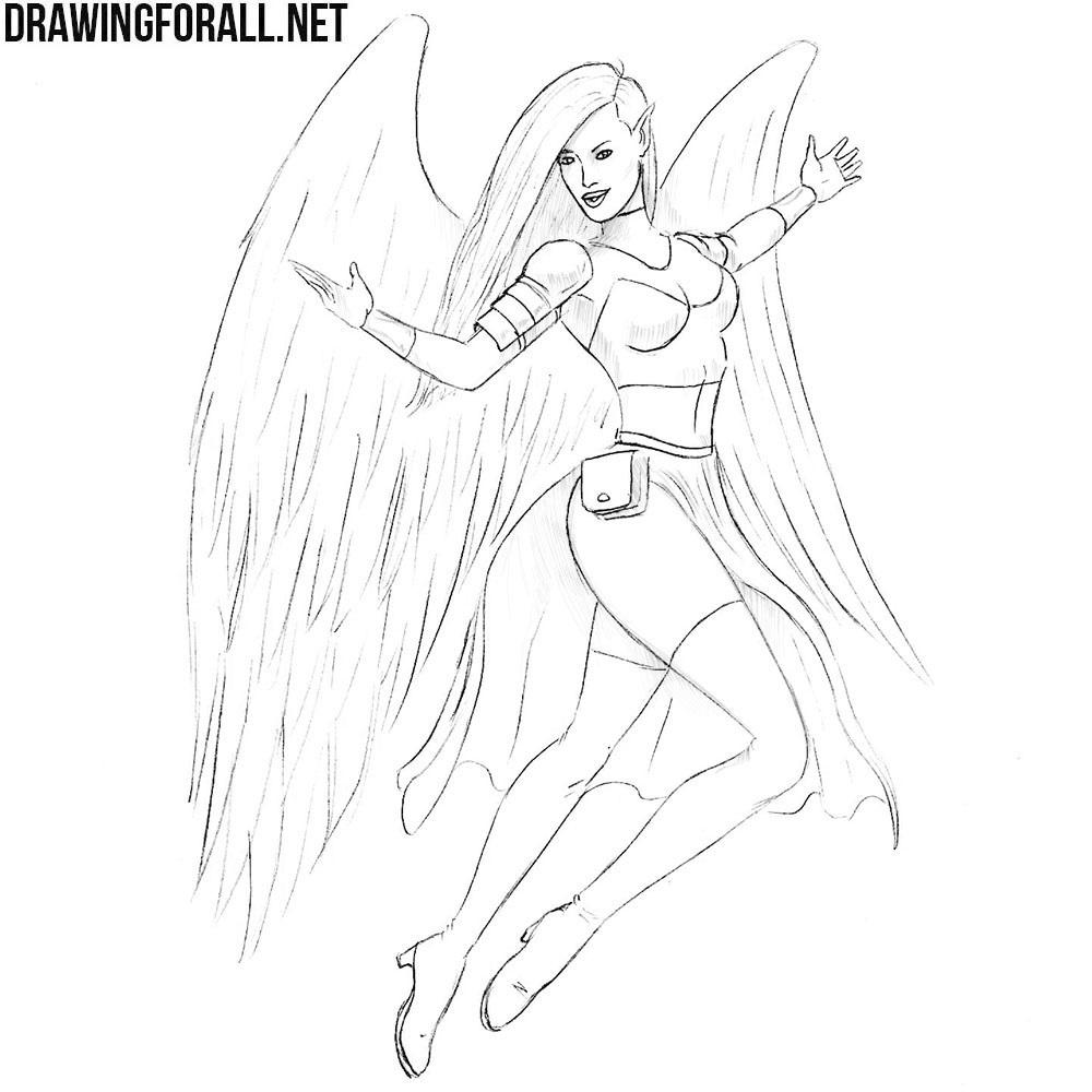 How to Draw a Mythical Knight Girl
