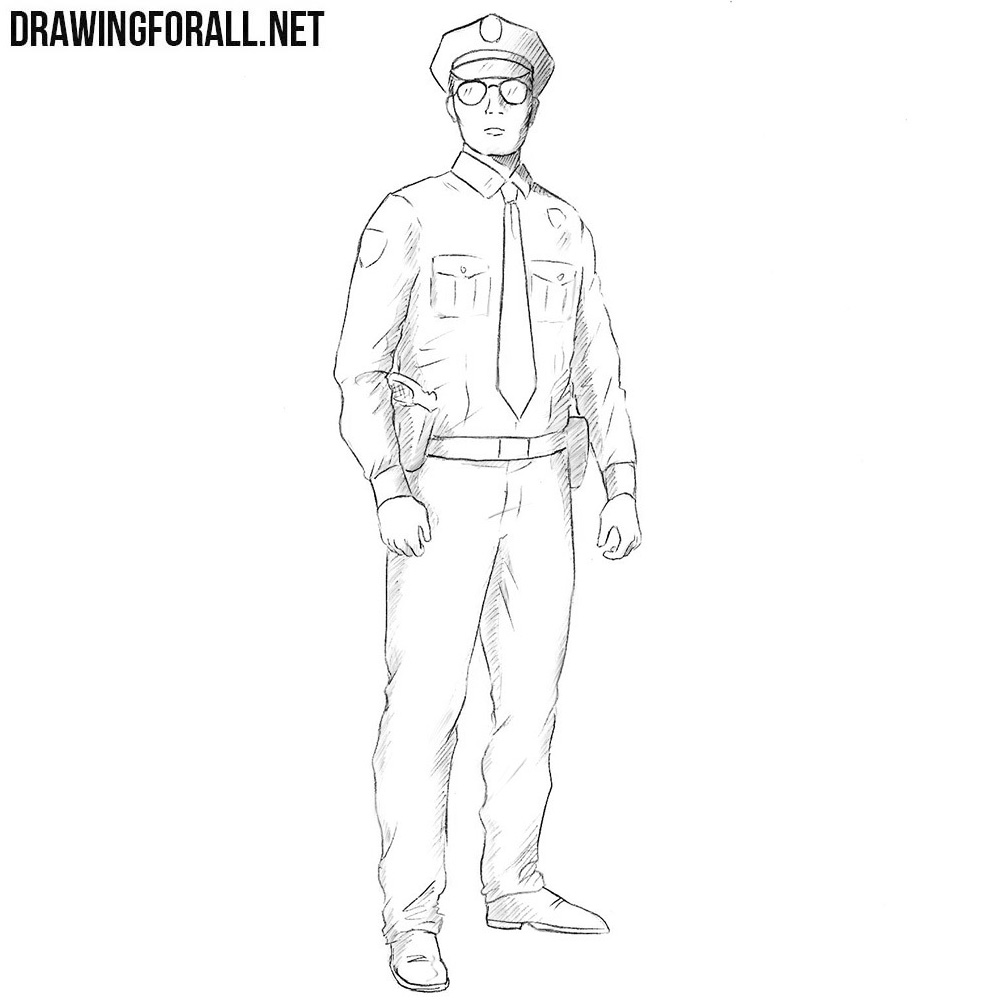 How to Draw a Policeman