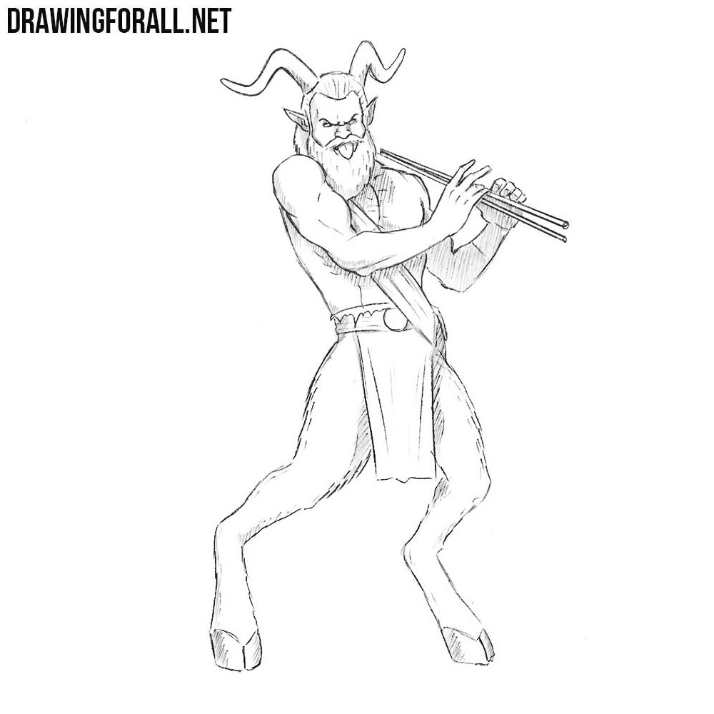 How to Draw a Satyr