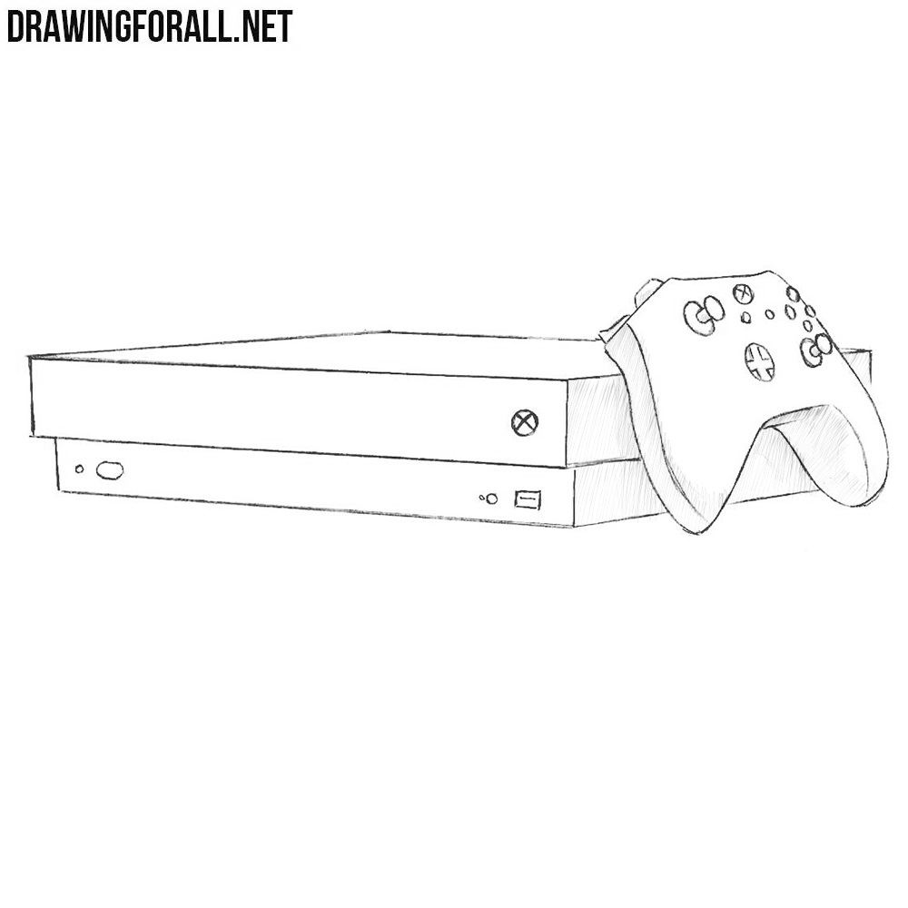 How To Draw An X Box One Drawingforall Net