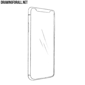 How to draw an iPhone X