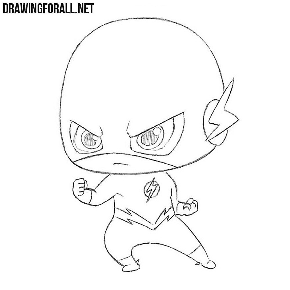How To Draw Chibi Flash