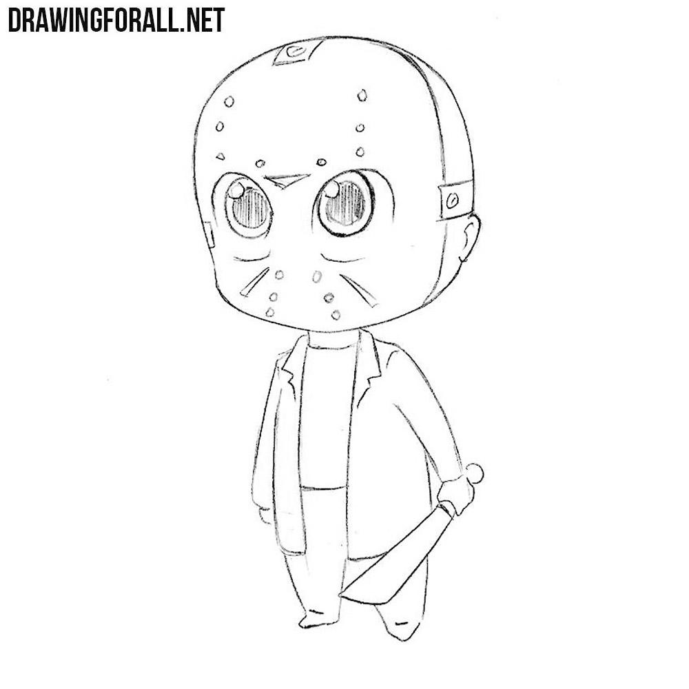 How to Draw Chibi Jayson Vurhiz | Drawingforall.net