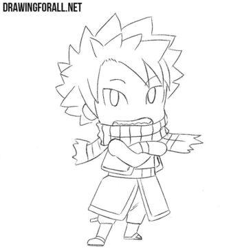 How to Draw Chibi Natsu
